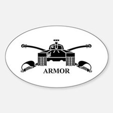 Armor Oval Decal