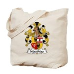 Matthias Family Crest Tote Bag