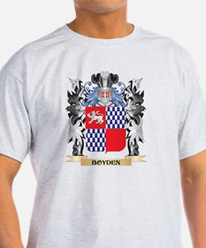 Boyden Coat of Arms - Family Crest T-Shirt