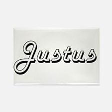 Justus Classic Style Name Magnets