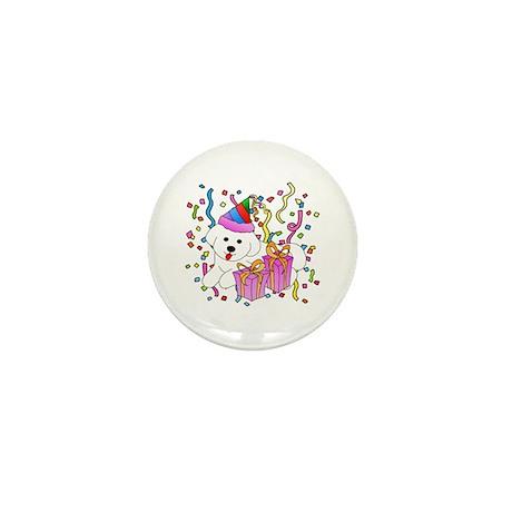 Bichon Frise Mini Button