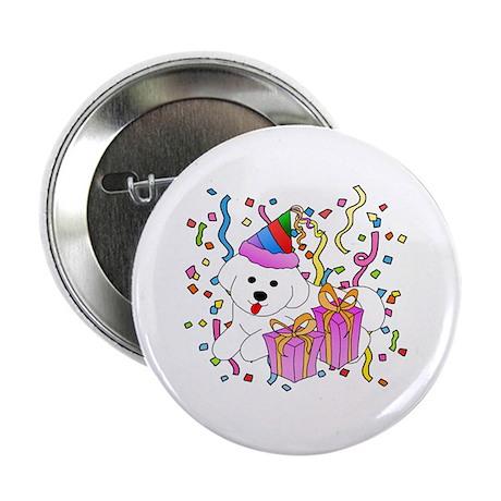 """Bichon Frise 2.25"""" Button (10 pack)"""