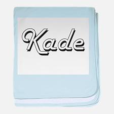 Kade Classic Style Name baby blanket