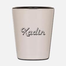 Kadin Classic Style Name Shot Glass
