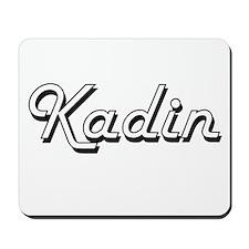 Kadin Classic Style Name Mousepad