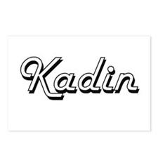 Kadin Classic Style Name Postcards (Package of 8)