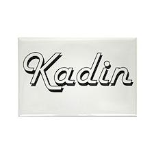 Kadin Classic Style Name Magnets