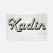 Kadin Classic Style Name Magnets