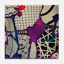 Calypso Tile Coaster