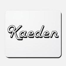 Kaeden Classic Style Name Mousepad