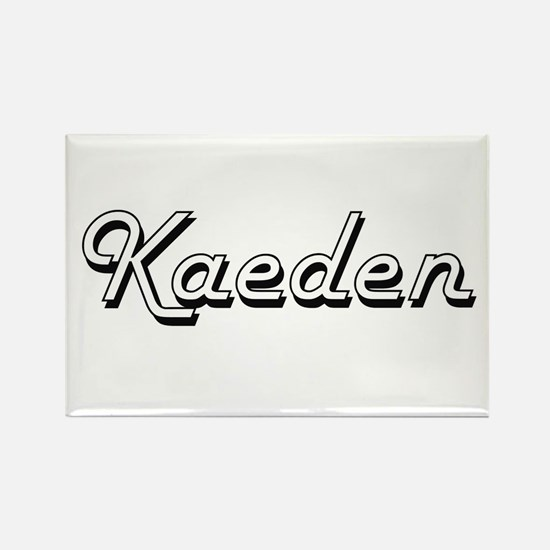 Kaeden Classic Style Name Magnets