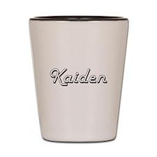 Kaiden Classic Style Name Shot Glass