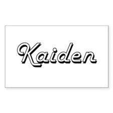 Kaiden Classic Style Name Decal