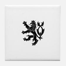 Cute Czech republic Tile Coaster