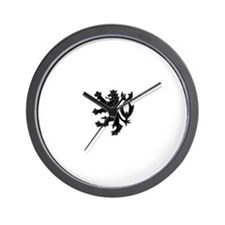 Cool White lion Wall Clock