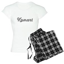 Kamari Classic Style Name Pajamas