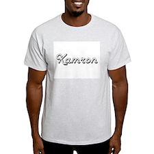 Kamron Classic Style Name T-Shirt