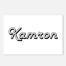 Kamron Classic Style Name Postcards (Package of 8)