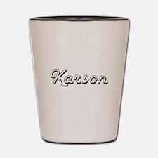 Karson Classic Style Name Shot Glass