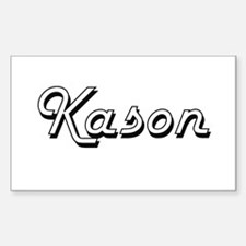 Kason Classic Style Name Decal
