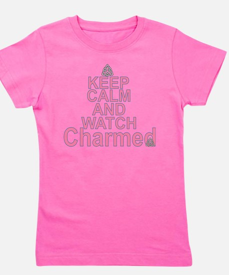 Keep Calm and Watch Charmed Girl's Tee