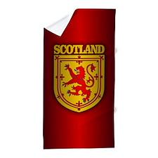 Scotland (COA) Beach Towel
