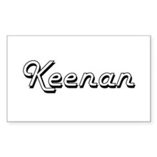 Keenan Classic Style Name Decal