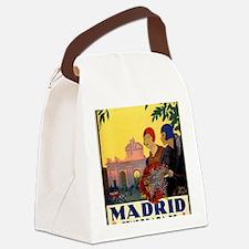 Unique Madrid Canvas Lunch Bag