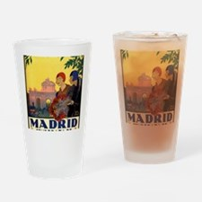 Cute Spain Drinking Glass