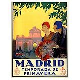 Madrid vintage Posters