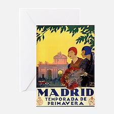 Cute Madrid Greeting Card