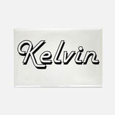 Kelvin Classic Style Name Magnets