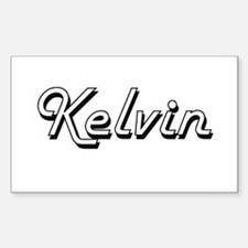 Kelvin Classic Style Name Decal