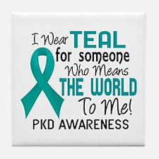 PKD MeansWorldToMe2 Tile Coaster