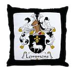 Lemmens Family Crest  Throw Pillow