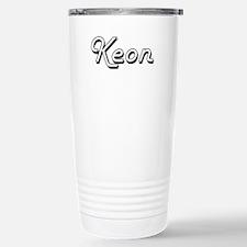 Keon Classic Style Name Travel Mug