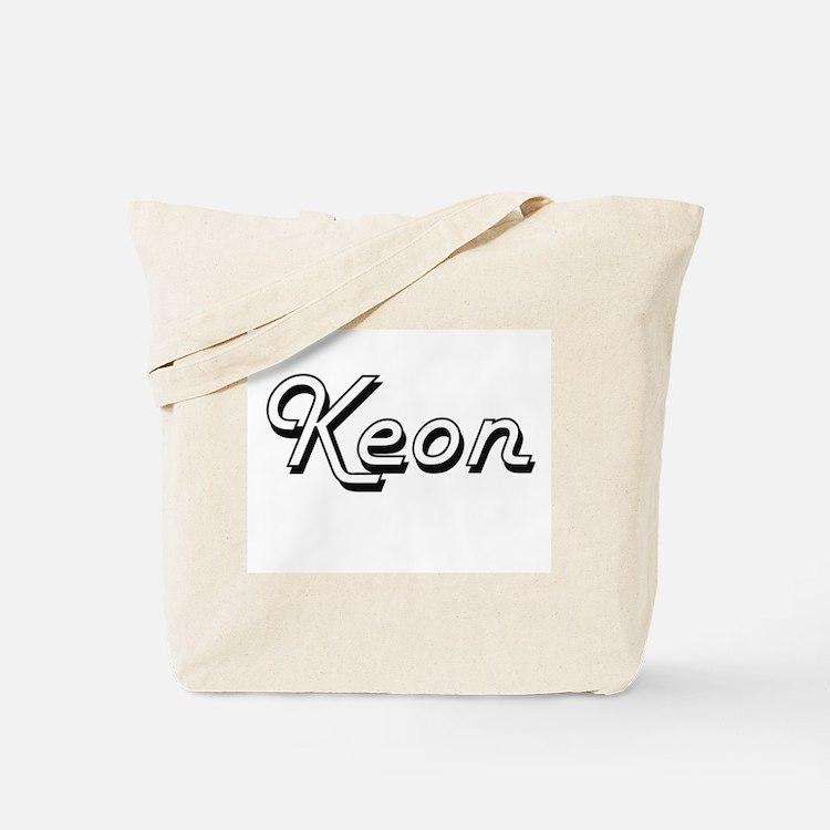 Keon Classic Style Name Tote Bag