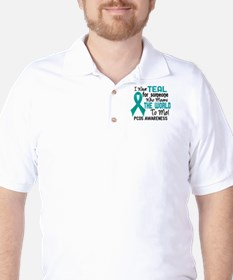 PCOS MeansWorldToMe2 Golf Shirt