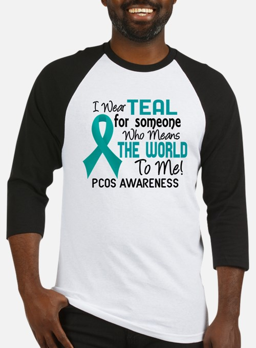 PCOS MeansWorldToMe2 Baseball Jersey