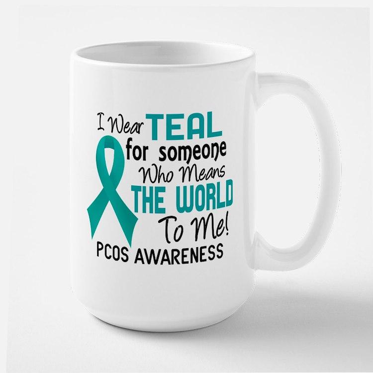 PCOS MeansWorldToMe2 Mug