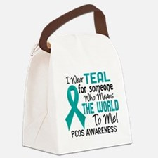 PCOS MeansWorldToMe2 Canvas Lunch Bag