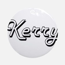 Kerry Classic Style Name Ornament (Round)