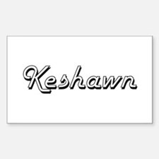 Keshawn Classic Style Name Decal