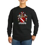 Lauterbach Family Crest Long Sleeve Dark T-Shirt