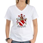 Lauterbach Family Crest Women's V-Neck T-Shirt