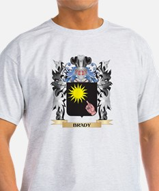 Brady Coat of Arms - Family Crest T-Shirt