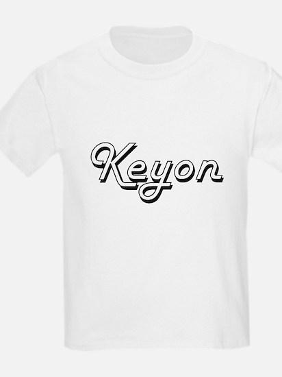 Keyon Classic Style Name T-Shirt