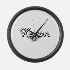 Keyon Classic Style Name Large Wall Clock