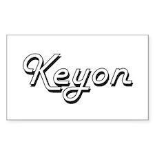 Keyon Classic Style Name Decal
