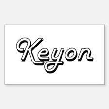 Keyon Classic Style Name Decal